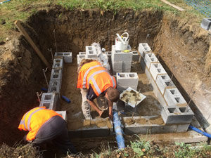 Pipework, water services and repairs